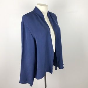 Eileen Fisher petite Large Silk jacket